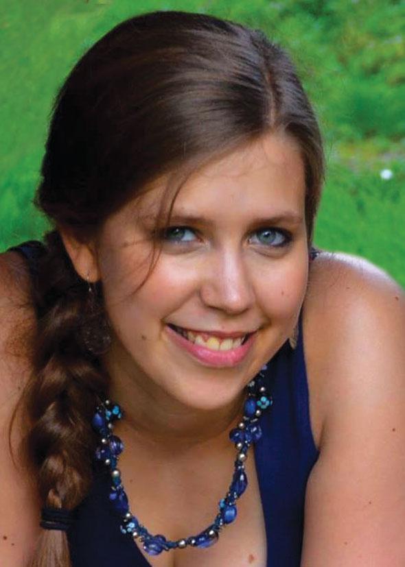 Portrait de la lauréate Virgine Mouligneaux